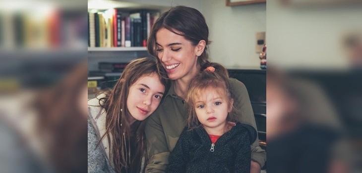 Millaray Viera y su hija Julieta