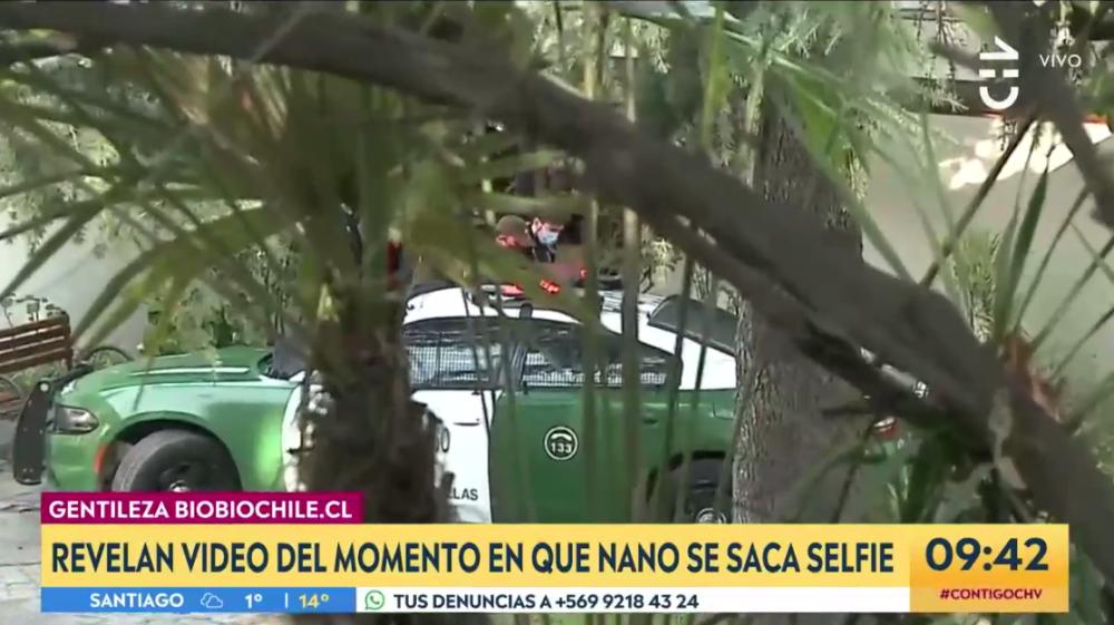 Carabineros detiene a 'Nano' Calderón: lo trasladan a Centro de Justicia para su formalización