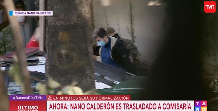 Detienen a 'Nano' Calderón en clínica psiquiátrica: debe ir a Centro de Justicia para formalización