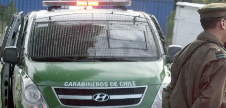 Niño de 4 años quedó grave tras ser atropellado por furgón de Carabineros en Lo Espejo