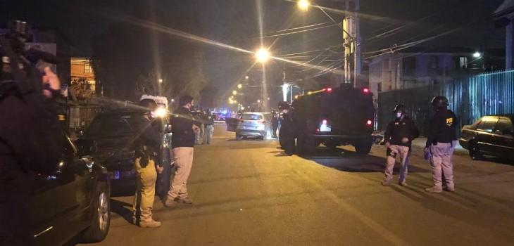 video registra ráfaga de disparos contra personal de la PDI en La Florida