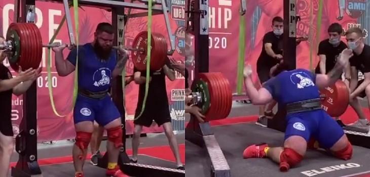 lesion pesista ruso 400 kilos