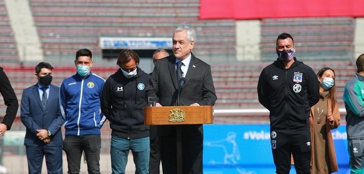 sebastian piñera retorno futbol chileno