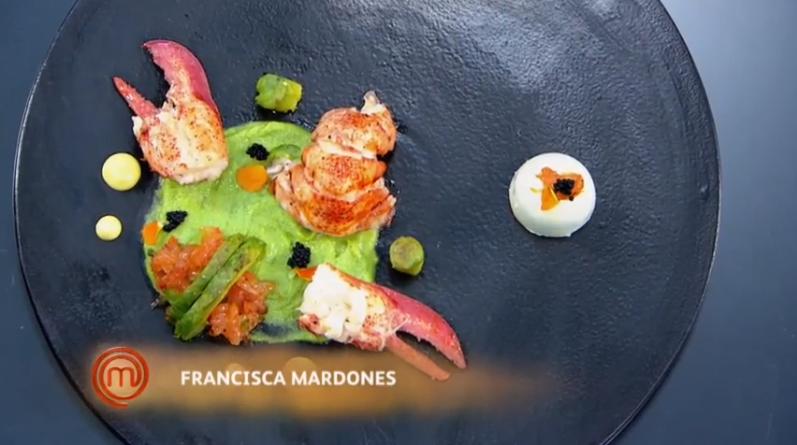 Plato de Natalia Duco, Francisca Mardones