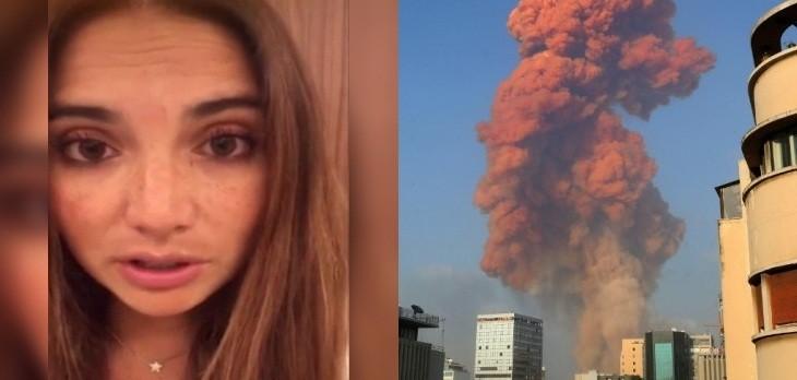 estefania henriquez explosion libano