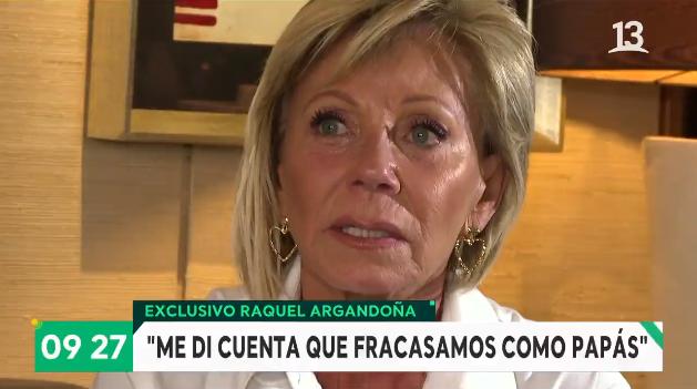 Raquel Argandoña habla sobre Nano Calderón