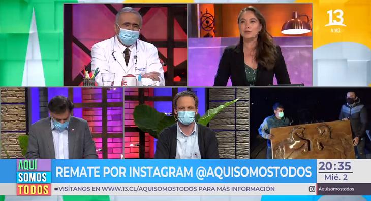 Ángeles ARAYA Y doctor Ugarte