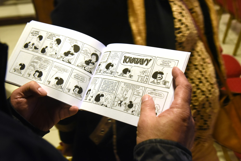 Mafalda | Agence AFP