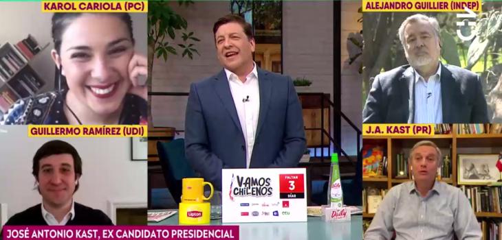¿Yolanda Sultana? Irónico comentario de JC Rodríguez a José Antonio Kast tras dicho sobre plebiscito