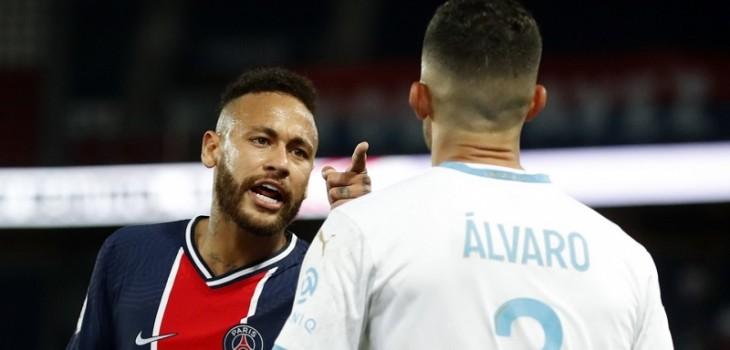 Neymar acusa racismo tras polémica expulsión en duelo PSG-Olympique
