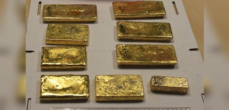 Subastan oro