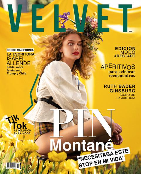 Josefina Montané en Revista Velvet