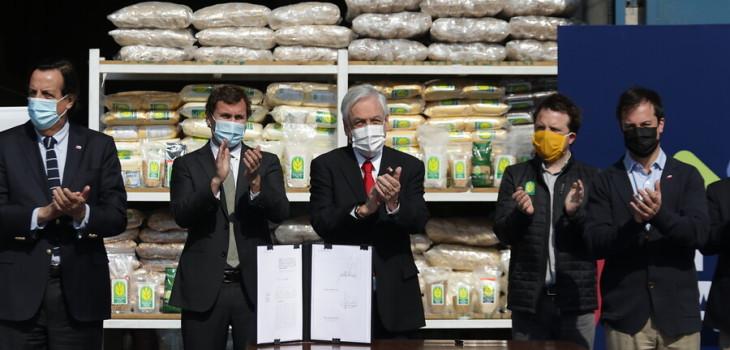Piñera anuncia beneficios para pequeñas y medianas empresas