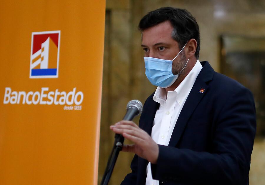 presidente del BancoEstado, Sebastián Sichel