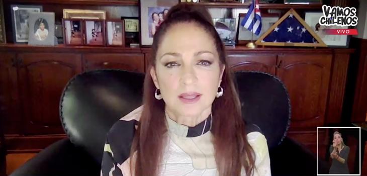 Gloria Estefan llama a la solidaridad