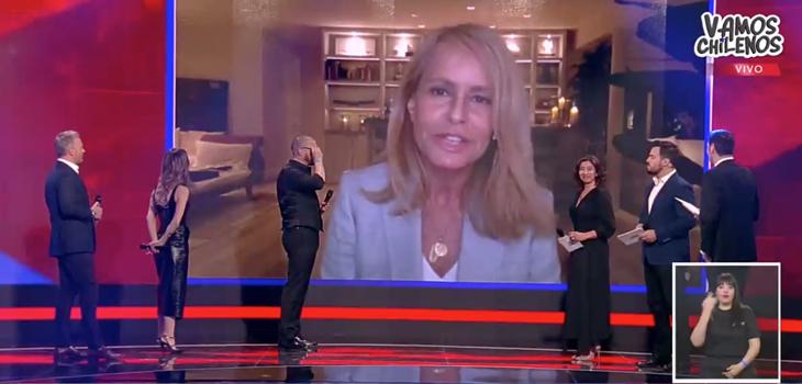 Cecilia Bolocco en Vamos Chilenos