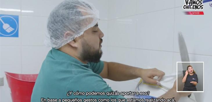 Profesores entregan pan