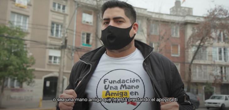 Labor de Fundación una mano amiga en Chile