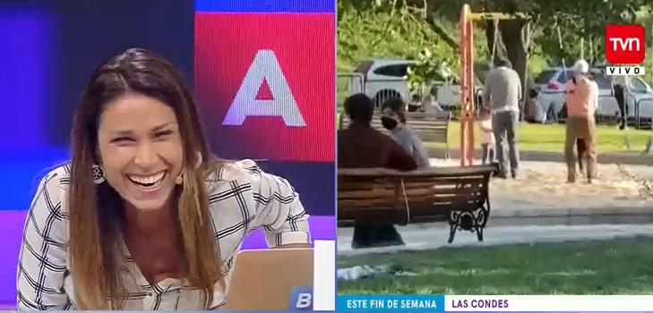 Carolina Escobar en Buenos días a todos