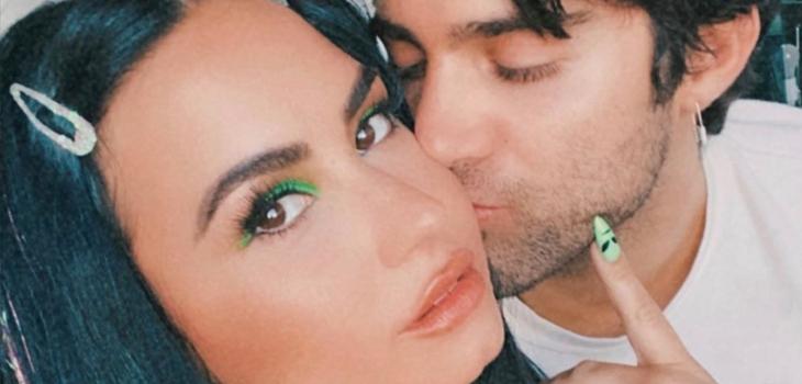 Max Ehrich habló sobre cómo se enteró de su quiebre con Demi Lovato
