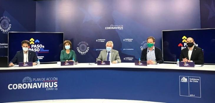 1.965 nuevos casos de COVID-19 y 72 fallecidos: cifras en región de Magallanes preocupan al Gobierno