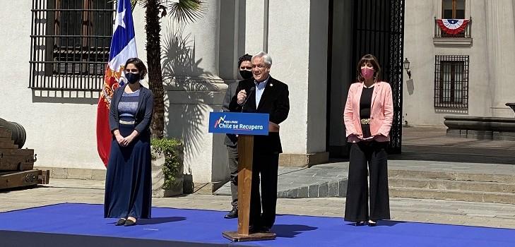 Piñera presenta nuevo plan