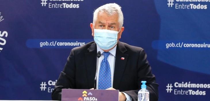 Minsal anuncia que hará modificaciones en los tiempos de cuarentena para los contagios confirmados