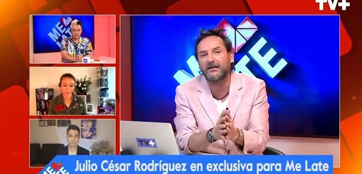 Daniel Fuenzalida agradeció apoyo de Julio César Rodríguez