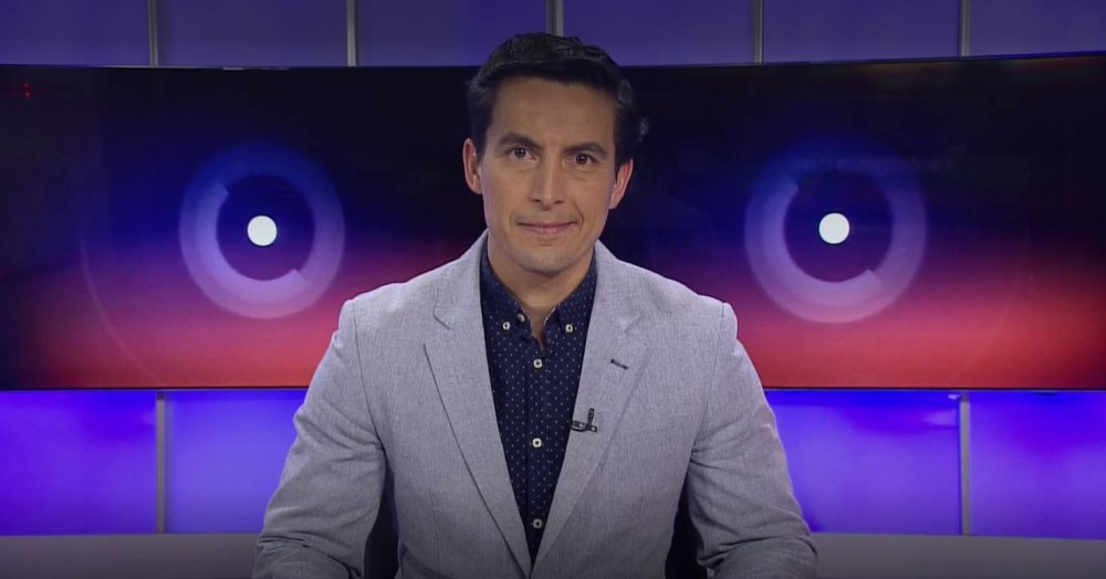 periodista de TVN