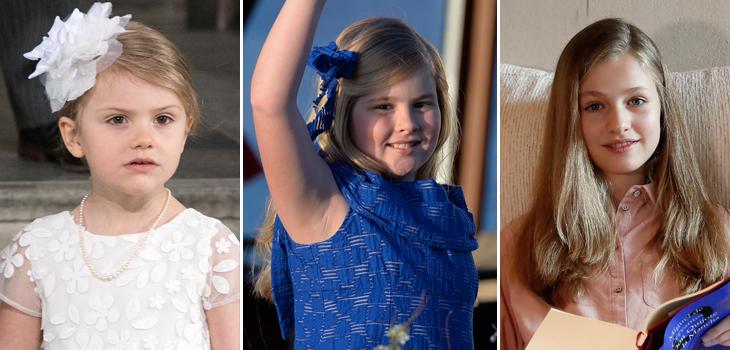 Cinco princesas que se preparan para convertirse en reinas