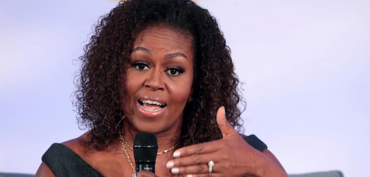 Michelle Obama habla de relaciones de pareja