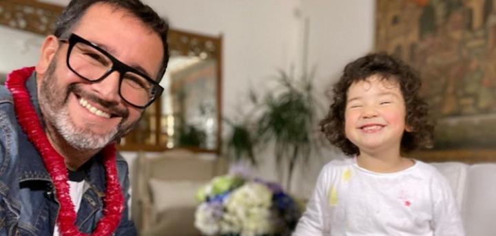 Eduardo Fuentes dedicó adorable mensaje de cumpleaños a su hija Alma: mostró cuánto ha crecido