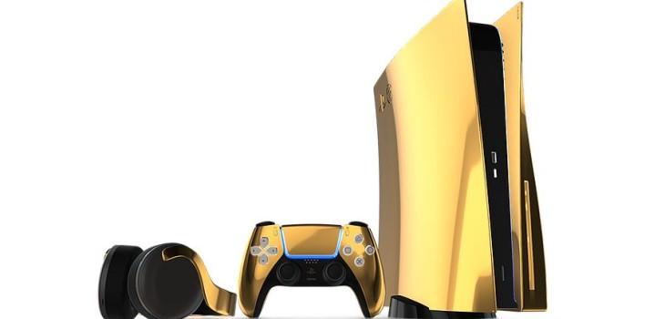 Sony PlayStation 5 24k Gold