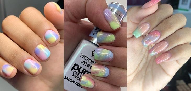 Uñas tye dye: la nueva tendencia de uñas que se tomará la primavera
