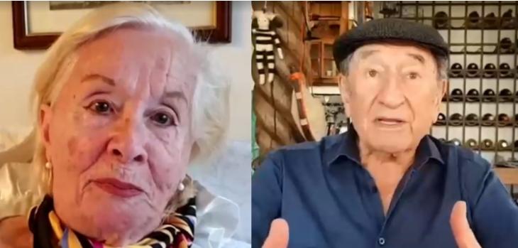 Delfina Guzmán y Luis Alarcón