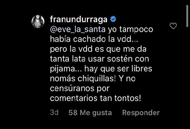 Fran Undurraga | Instagram