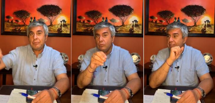 Alcalde de Vicuña interrumpido por fuerte sismo
