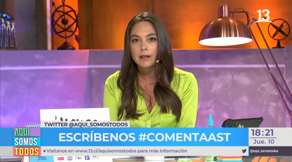 """Ángeles Araya y su reflexión ante nuevo caso de violencia contra la mujer: """"No queremos tener miedo"""""""