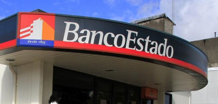 frase soez apareció en el sitio web de BancoEstado durante una prueba técnica
