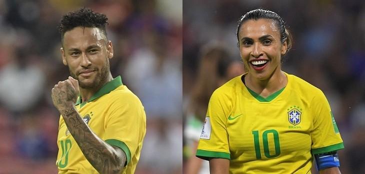 neymar y marta brasil