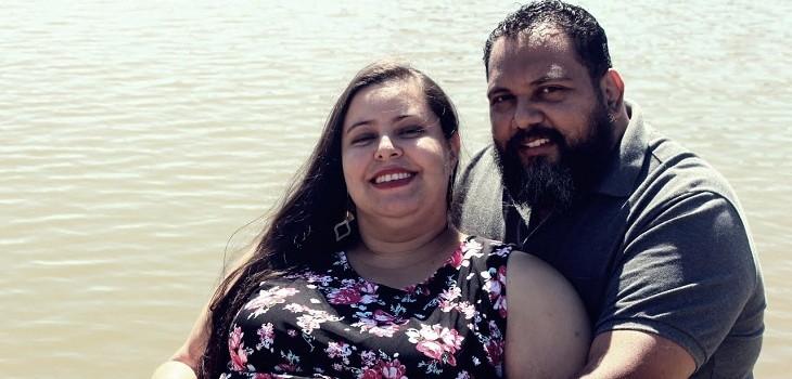 camila graciano y su pareja