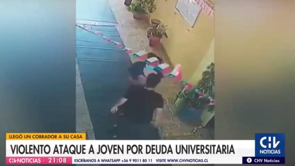 """Por """"matonaje"""": UNAB termina contrato con empresa de cobranza que agredió en su casa a alumno deudor"""