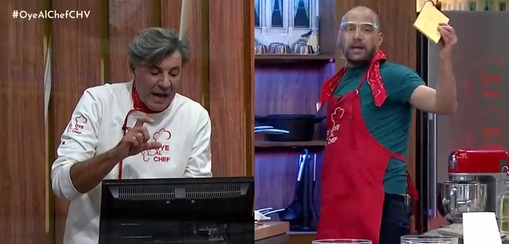la graciosa confusión de Yann Yvin que complicó a Julián Elfenbein en Oye al Chef