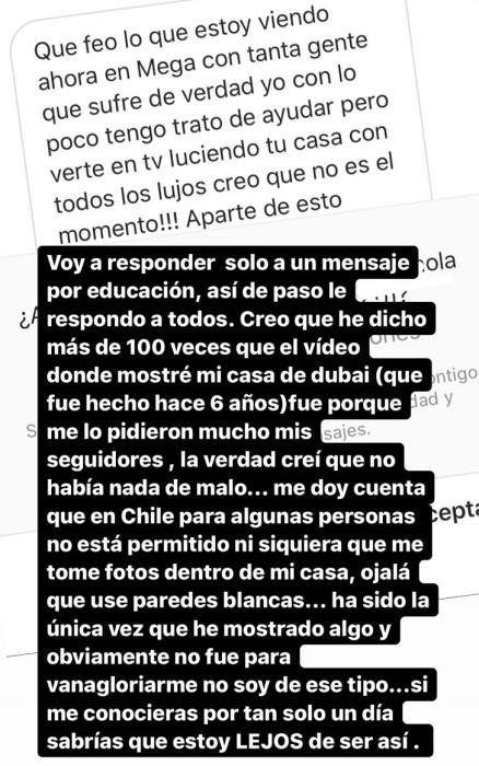 Coté López y críticas por video de su casa