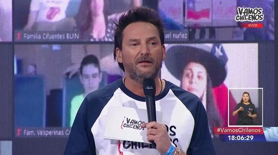 Daniel Fuenzalida en Vamos Chilenos