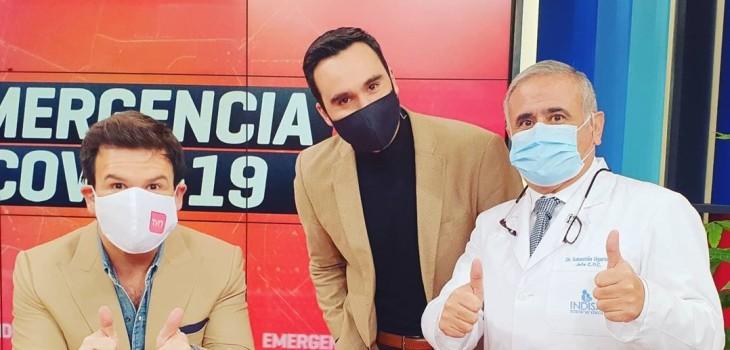 Periodista de TVN, Daniel Silva, se va a Mega