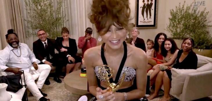 Zendaya hizo historia en los Emmy: es la artista más joven en ganar premio de mejor actriz de drama