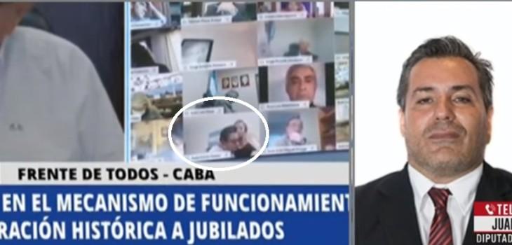 diputado argentino protagonizó escena sexual en sesión online