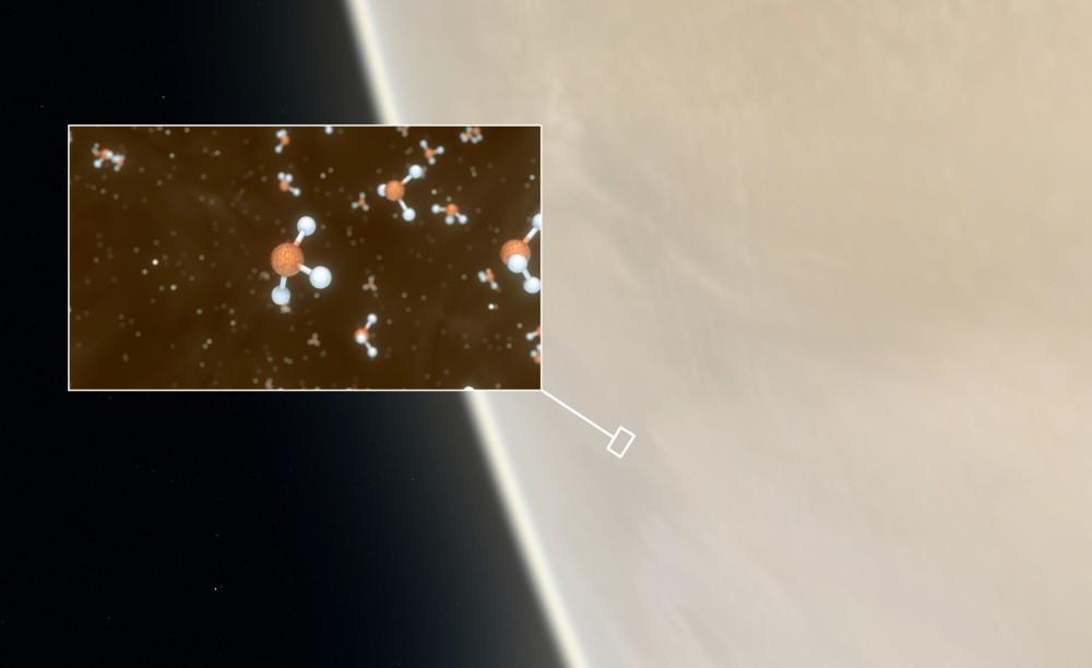 Astrónomos descubrieron indicios de vida en nubes de Venus: hallaron un gas existente en la Tierra