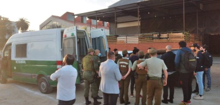 Residencia sanitaria alegó: sorprenden a 62 personas transmitiendo fiesta online pese a cuarentena